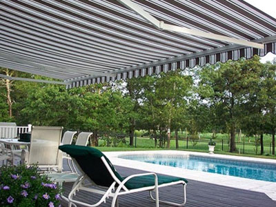 Pool Side Awnings